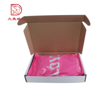 Different types custom printed popular corrugated wholesale box packaging clothing