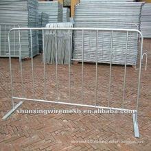 Дешевый оцинкованный временный забор