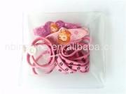 Fashionable printing hair clip,hair band