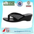 china rubber pu slipper , summer beach sandal slipper , fashion leather men slipper