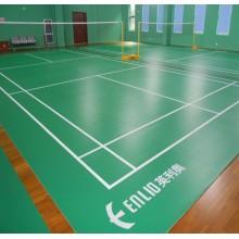 Enlio badminton flooring with BWF
