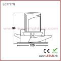 COB Downlight comercial 8W do diodo emissor de luz do poder superior da iluminação LC7718n
