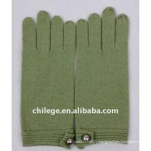 gants d'hiver en laine à la mode