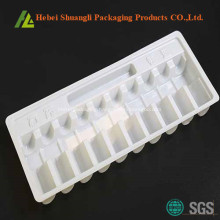White Thermoforming Plastic Ampoule Tray