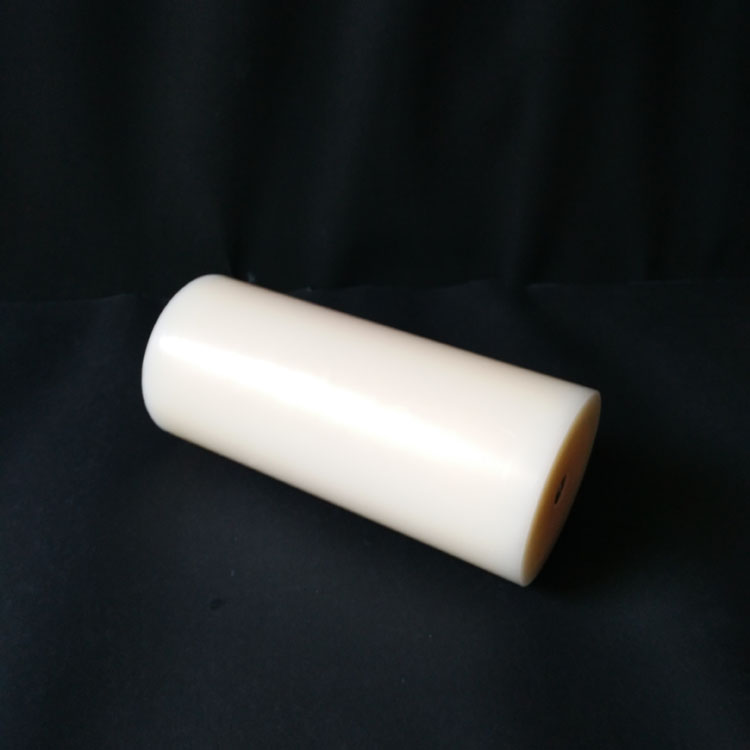 Ivory Color Vanilla Scents Flat Top Pillar 3