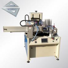 Impressora de tela de 4 estações de secagem UV para régua