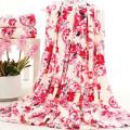 Coral Fleece Blanket Druckgewebe 1,8 x 2,2 m 900 g