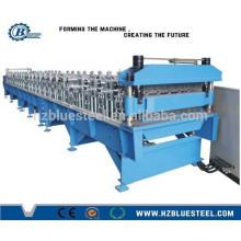 Full Automatic PLC Double Layer Aluminium verglasten Dachdecker Blatt Making Machine zum Verkauf