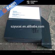 Impresión offset impresión tipográfica de impresoras de tarjetas de negocios uxury