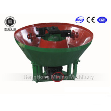 Mini Wet Pan Mill for Grinding Gold Silver Lead Iron