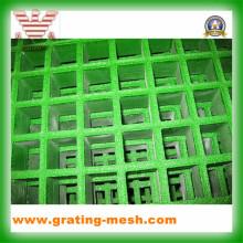 Rejilla moldeada de FRP, rejilla de GRP, rejilla de la fibra de vidrio