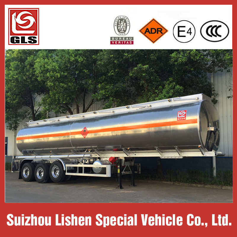 45000L Aluminium Alloy Ethyl Alcohol Tank Trailer