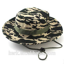 2015 Fashion Customed Floral Printed polyester Outdoor Bucket Fishing Hat