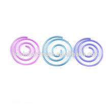 Модные высококачественные металлические спиральные скрепки
