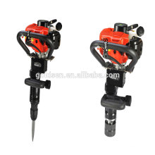 70mm 900w 32.7cc Double Function Mini Petrol Hammer Breaker Small Gasoline Vibrating Post Driver