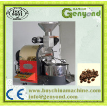 Equipamentos de torrefação de grãos de café de grande capacidade