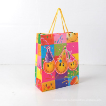 Простая милая подарочная сумка