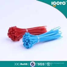 Laço colorido do fecho de correr do cabo do fabricante chinês para a venda