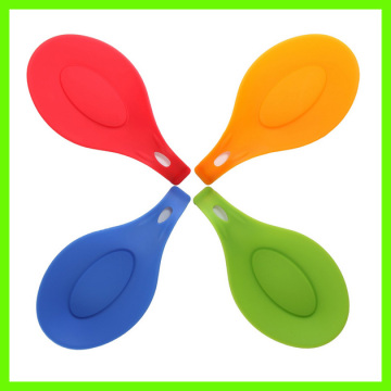 Coloré de bonne qualité Silicone Spoon Holder Set