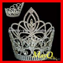 Красота Круглая бриллиантовая корона для девочек