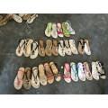 Sandal Flip Flops Slipper Women Ladies Handwork Handcraft TPR Shoes