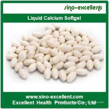 Capsules molles de liquide Calcium Softgel