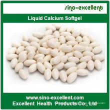 Cápsulas macias de Softgel de cálcio líquidas