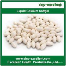 Cápsulas blandas de gelatina blanda de calcio líquido