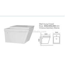 Guter Preis Sanitär Ware Wand Hung Weibliche WC Schüssel WC Australian Standard