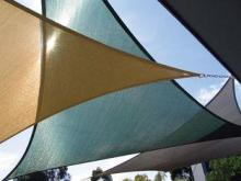 Custom made outdoor canopies Triangle Shelter 5*5*5M for pr