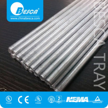 DIN975 Grade 4.8 Low Carbon Steel Zinc Galvanized SS Threaded Rods Manufacturer