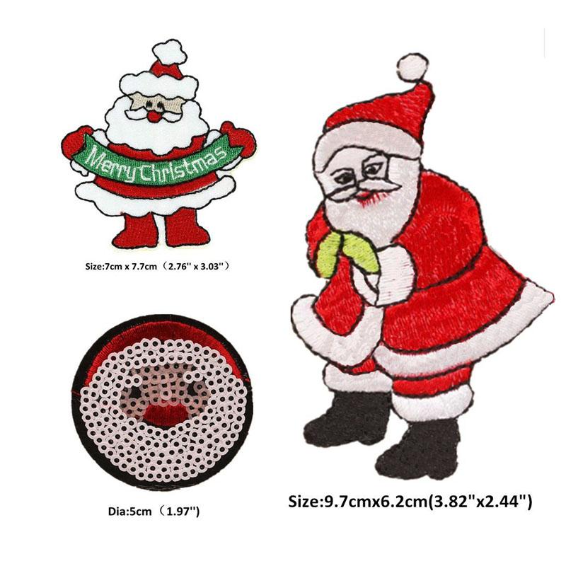 Christma Santa Emblem