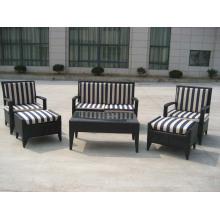 Móveis de jardim vime mobiliário Design modelo conjunto de sofá