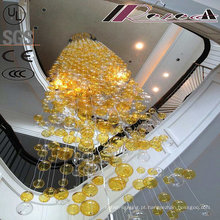 2016 Novo Design Rodada Blown Glass Balls Lâmpada Pingente