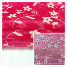 Foam Organza Fabric, Wedding Fabric, Garment Fabric