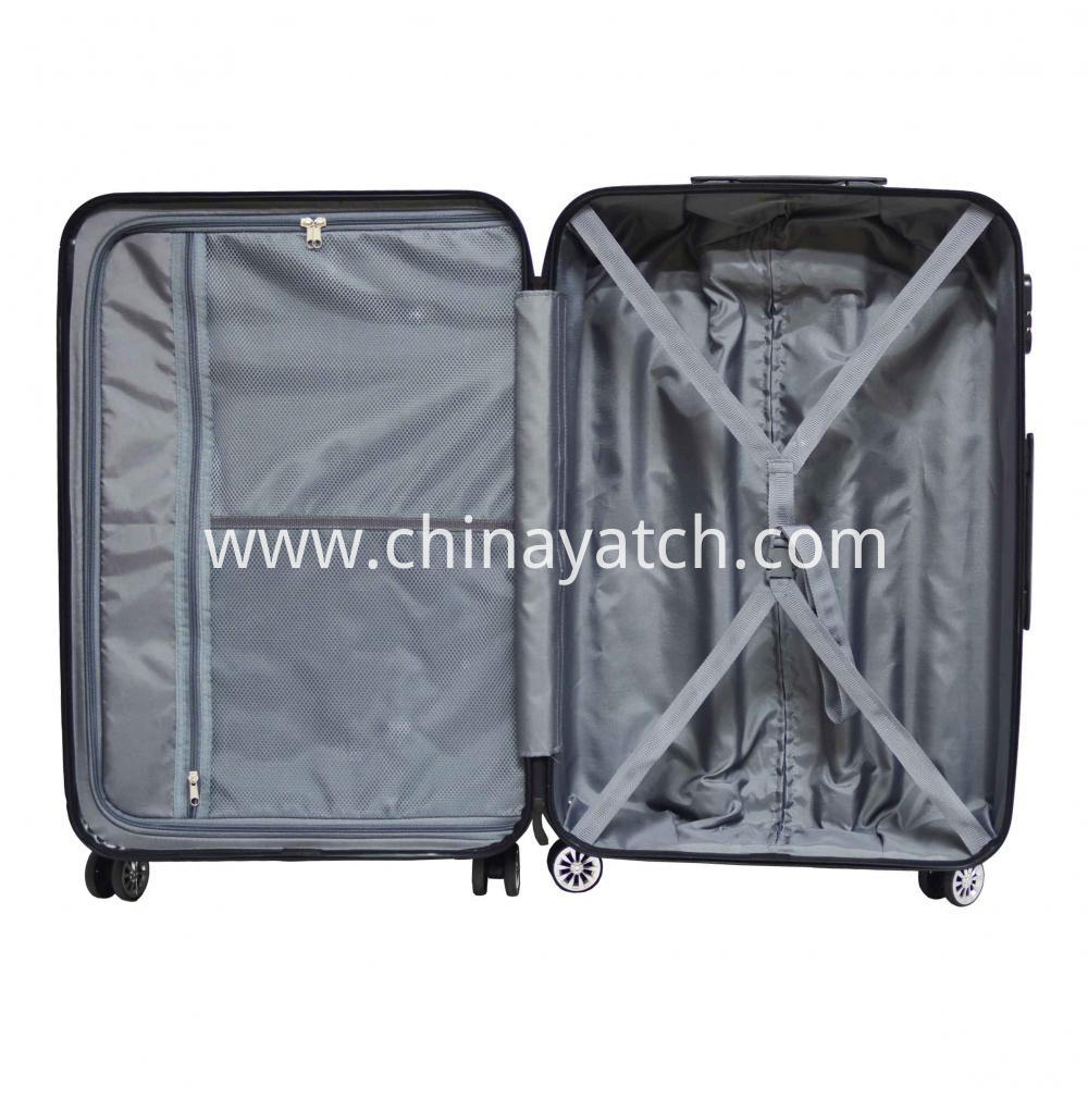 Abs+ Pc Alloy Luggage Set