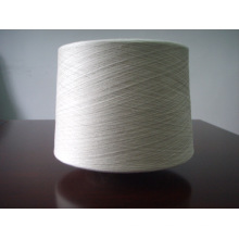 Polyester / Leinen 70/30% Ne 30s Garn zum Weben