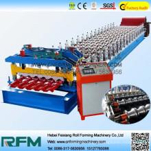 Alibaba expreso azulejo de escalón de azulejos de azulejos de azulejos laminados de formación de la maquinaria Made in china