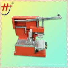 Machine à imprimer manuelle à jet d'encre à une seule tache à encres manuelle avec unité d'exposition