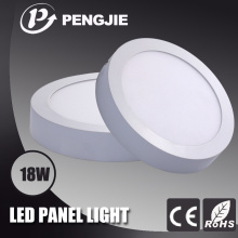 Energy Saving 18W LED Surface Panel Light for Office (Round)