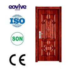 Porta de porta/melamina design moderno mdf hdf/porta de aço