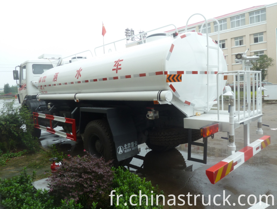 BEIBEN water truck export to Ghana