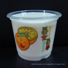 Taza de té de burbujas tazas de plástico de bebidas frías