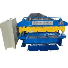 Machine de toiture à double couche de feuilles de métal