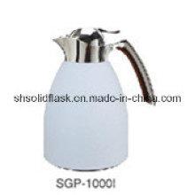 Potenciômetro / chaleira de aço inoxidável contínuos do café do vácuo com reenchimento de vidro