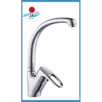 Einhand-Küchenmischer Wasserhahn in Sanitärkeramik (ZR20909)