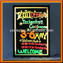 Hot selling new style led lighting menu board for advertising