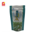 Foil bag for tea bag resealable ziplock bag