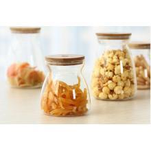 Light Weight Glass Jar Tea Rice Bean Bottle
