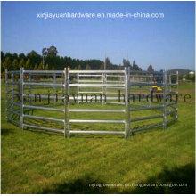 Granja de ganado galvanizado Puerta de la cerca para ovejas o caballos de ganado